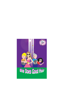 The Hair Mavens--She Does Good Hair Marketing collateral  Draft # 20 by crimsonkid21