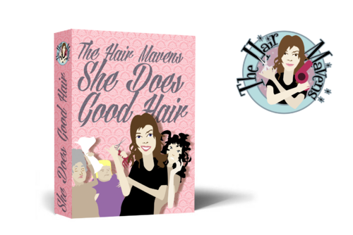The Hair Mavens--She Does Good Hair Marketing collateral  Draft # 22 by Artworxs