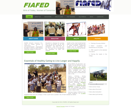 FIAFED Complete Web Design Solution  Draft # 7 by Mlpatoi