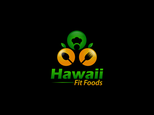 Hawaii Fit Foods A Logo, Monogram, or Icon  Draft # 7 by Noeen