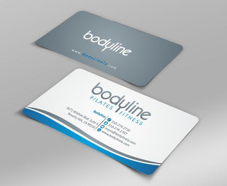 Bodyline Business Cards and Stationery  Draft # 152 by Deck86