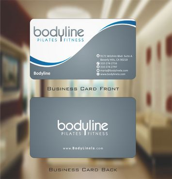 Bodyline Business Cards and Stationery  Draft # 155 by Deck86