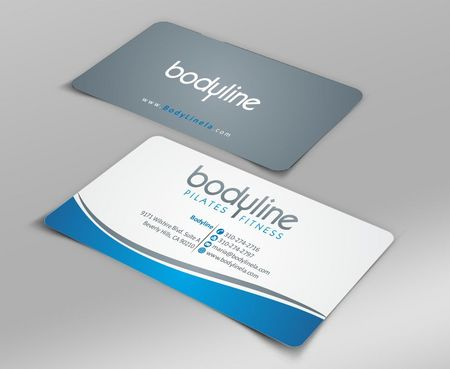 Bodyline Business Cards and Stationery  Draft # 158 by Deck86