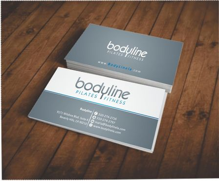 Bodyline Business Cards and Stationery  Draft # 160 by Deck86
