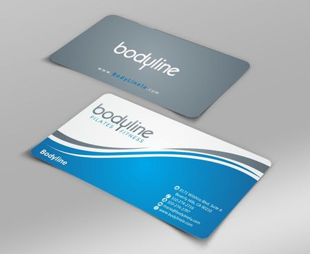Bodyline Business Cards and Stationery  Draft # 163 by Deck86