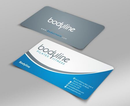 Bodyline Business Cards and Stationery  Draft # 162 by Deck86