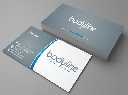 Bodyline Business Cards and Stationery  Draft # 164 by Deck86