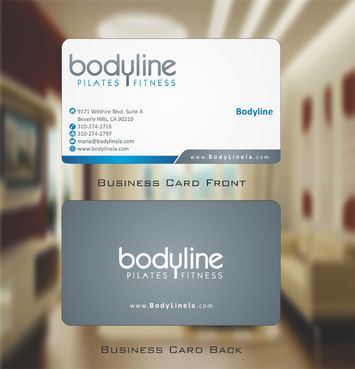 Bodyline Business Cards and Stationery  Draft # 165 by Deck86