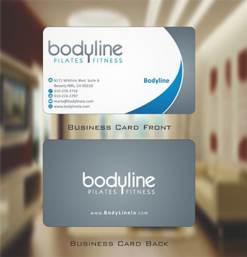 Bodyline Business Cards and Stationery  Draft # 167 by Deck86
