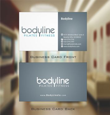 Bodyline Business Cards and Stationery  Draft # 168 by Deck86