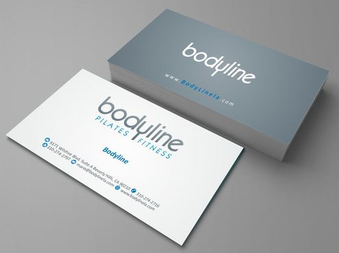 Bodyline Business Cards and Stationery  Draft # 170 by Deck86