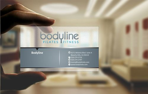 Bodyline Business Cards and Stationery  Draft # 171 by Deck86