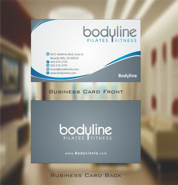 Bodyline Business Cards and Stationery  Draft # 172 by Deck86