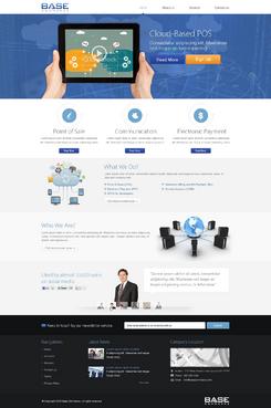 Base Commerce Blog Design Template Winning Design by spellwebdesign