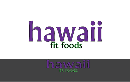 Hawaii Fit Foods A Logo, Monogram, or Icon  Draft # 41 by BismaWaheed