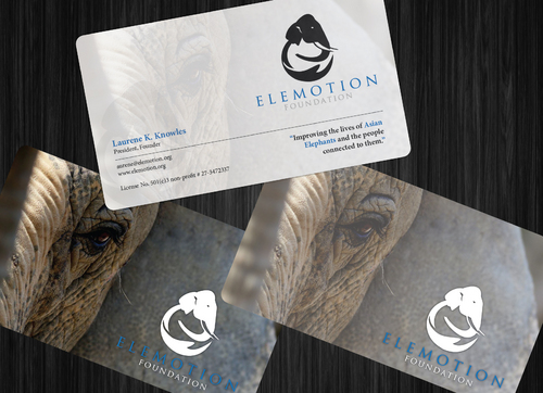 Elemotion Foundation Business Cards and Stationery  Draft # 4 by GenBullzzzz