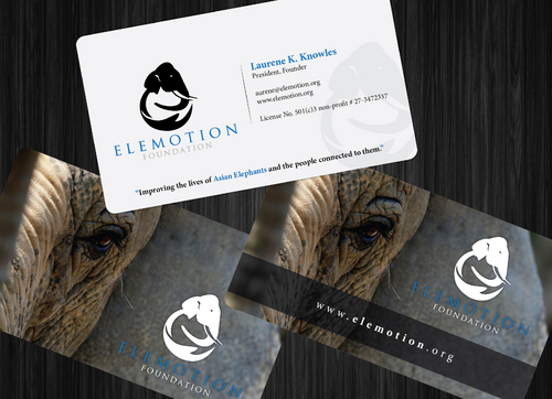 Elemotion Foundation Business Cards and Stationery  Draft # 5 by GenBullzzzz