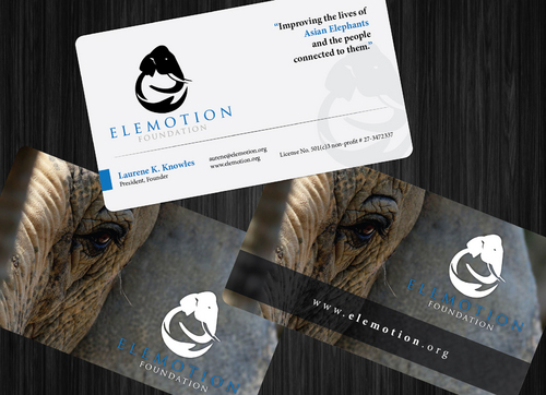Elemotion Foundation Business Cards and Stationery  Draft # 6 by GenBullzzzz
