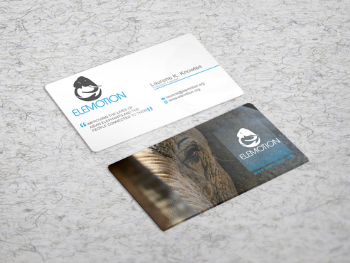 Elemotion Foundation Business Cards and Stationery  Draft # 32 by sevensky
