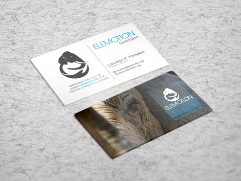 Elemotion Foundation Business Cards and Stationery  Draft # 34 by sevensky
