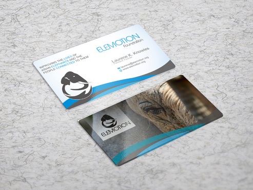 Elemotion Foundation Business Cards and Stationery  Draft # 35 by sevensky
