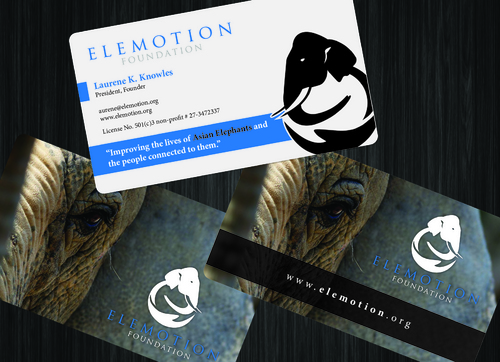 Elemotion Foundation Business Cards and Stationery  Draft # 36 by GenBullzzzz