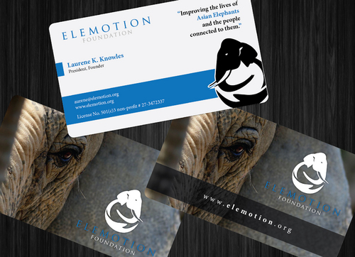Elemotion Foundation Business Cards and Stationery  Draft # 37 by GenBullzzzz