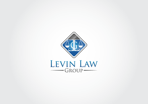 Levin Law Group A Logo, Monogram, or Icon  Draft # 21 by AxeDesign