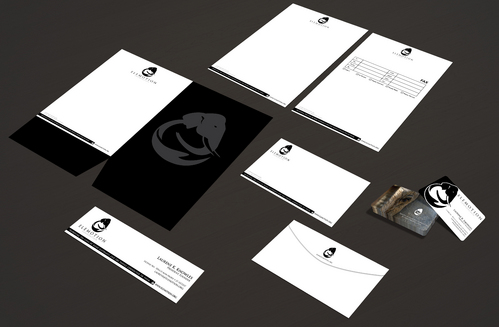 Elemotion Foundation Business Cards and Stationery  Draft # 314 by waterdropdesign
