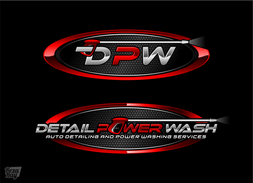 Sleek Professional Auto Detail And Powerwash Logo By Thedude1606
