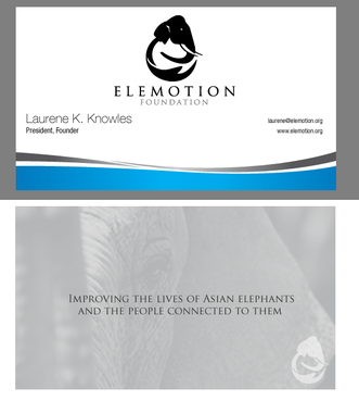 Elemotion Foundation Business Cards and Stationery  Draft # 318 by fhipu