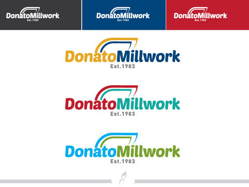 Donato Millwork A Logo, Monogram, or Icon  Draft # 97 by Logoziner