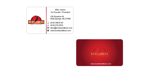 Bombshell Beer Company Business Cards and Stationery  Draft # 173 by senthil16