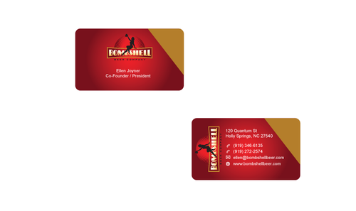 Bombshell Beer Company Business Cards and Stationery  Draft # 178 by senthil16