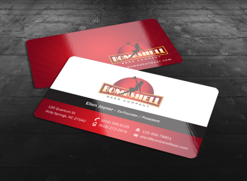 Bombshell Beer Company Business Cards and Stationery  Draft # 182 by einsanimation