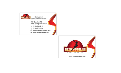 Bombshell Beer Company Business Cards and Stationery  Draft # 189 by senthil16