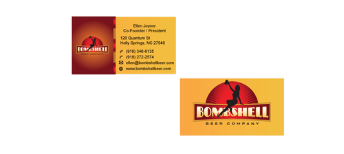 Bombshell Beer Company Business Cards and Stationery  Draft # 191 by senthil16