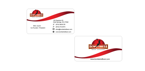 Bombshell Beer Company Business Cards and Stationery  Draft # 193 by senthil16