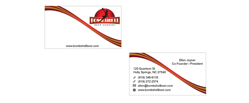 Bombshell Beer Company Business Cards and Stationery  Draft # 197 by senthil16