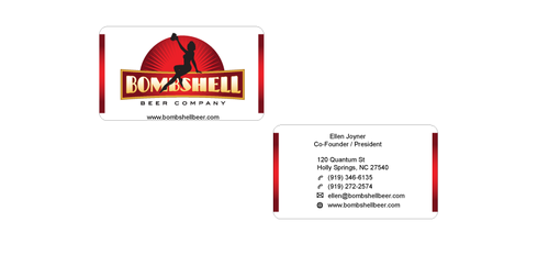 Bombshell Beer Company Business Cards and Stationery  Draft # 198 by senthil16
