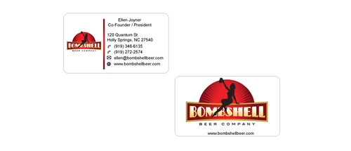 Bombshell Beer Company Business Cards and Stationery  Draft # 199 by senthil16