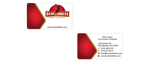 Bombshell Beer Company Business Cards and Stationery  Draft # 200 by senthil16