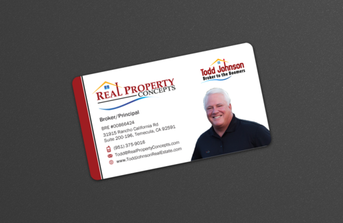 Real Property concepts letterhead and business card