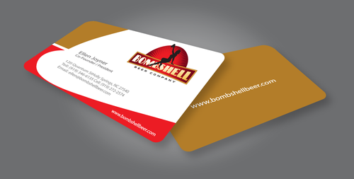 Bombshell Beer Company Business Cards and Stationery  Draft # 227 by jpgart92