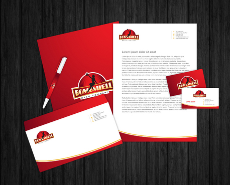 Bombshell Beer Company Business Cards and Stationery  Draft # 233 by Majestic