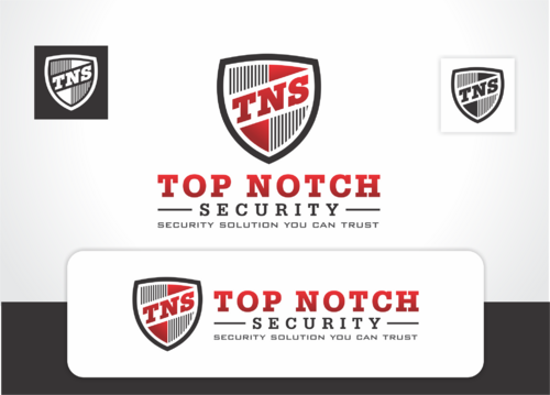 Top notch Security Inc. A Logo, Monogram, or Icon  Draft # 109 by QueenZahra