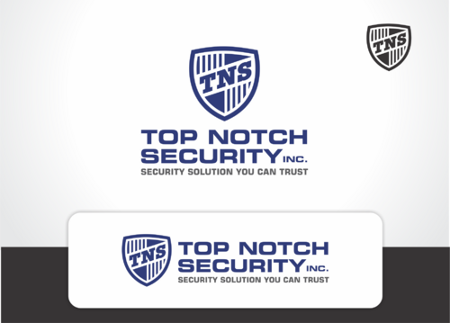 Top notch Security Inc. A Logo, Monogram, or Icon  Draft # 122 by QueenZahra
