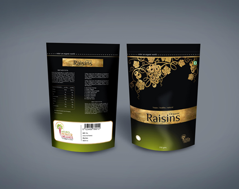 Packaging for Organic Food Products - retail