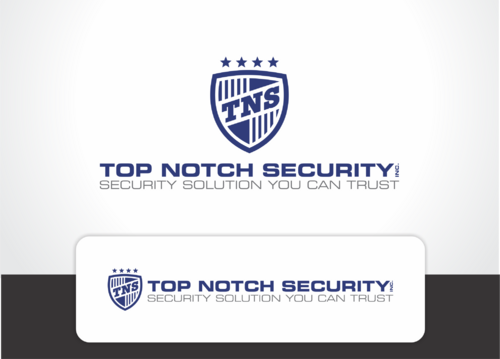Top notch Security Inc. A Logo, Monogram, or Icon  Draft # 123 by QueenZahra