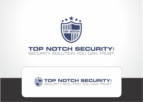 Top notch Security Inc. A Logo, Monogram, or Icon  Draft # 124 by QueenZahra